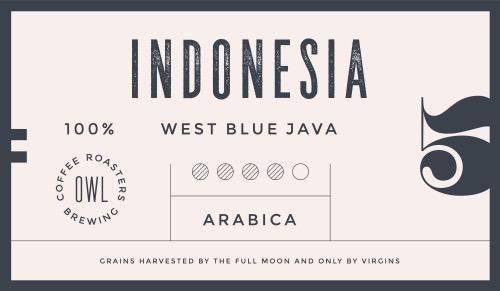 Retro design minimal label, tag of coffee, classic old school style, typography
